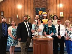 Bishop Anne's visit May 2017