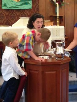Baptism, August 2013