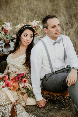 Montana Fall Floral Elopement