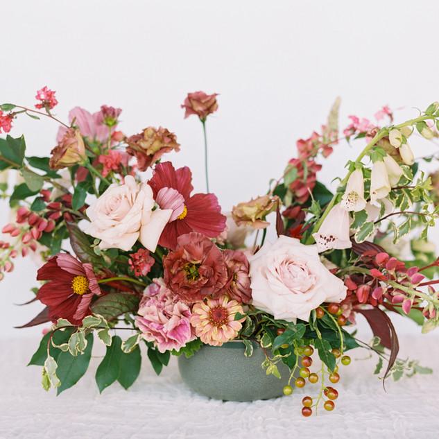 Lush Wedding Centerpiece // Table Arrangement
