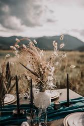 Dried Flower Table Arrangement