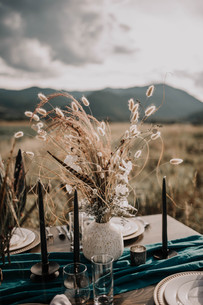 Dried Flower Table Arrangement
