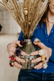 Dried Flower Rings