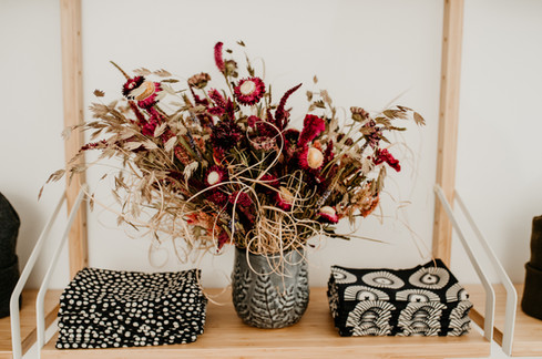 Dried Flower Table Arrangment