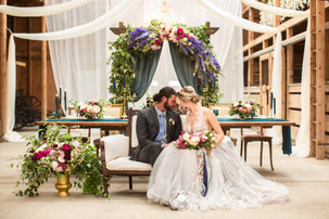 Romantic Wedding Headtable and Arch