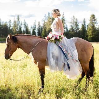 Montana Wedding Bridal Bouquet