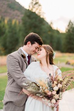 Dried Flower Wedding Flowers