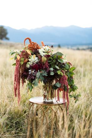 Lush, Organic Flower Arrangement