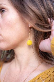 Craspedia Earrings
