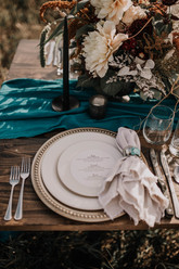 Western Wedding Tablescape