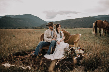 Montana Ranch Wedding Flowers