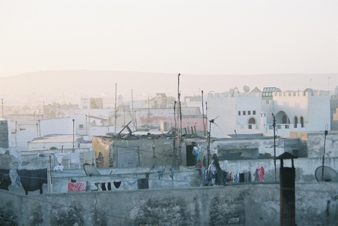 Essaouira rooftops, 2006
