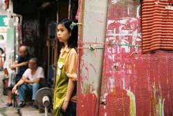 Hong Kong bed seller, 2007