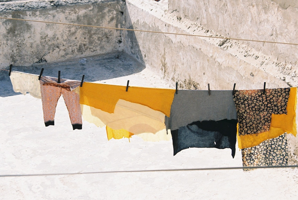 Essaouira washing line, 2006