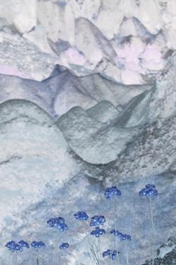 Blue tufa wildflowers, 2012