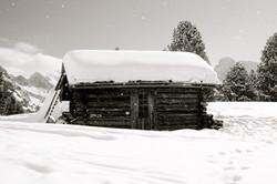 Hut, Val di Fassa, 2013