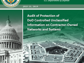DoD Releases Inspector General Report on Safeguarding CUI