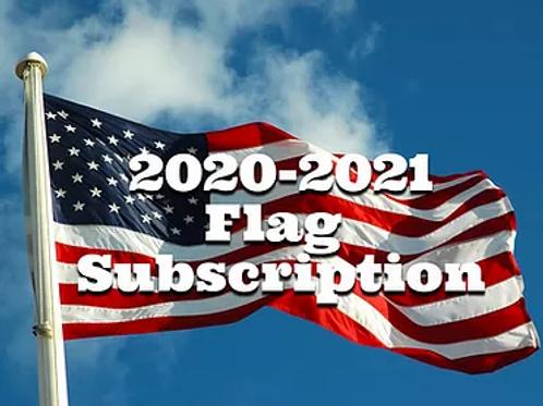 2020-2021 Flag Subscription