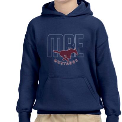 MRE Mustang Hooded Sweatshirt