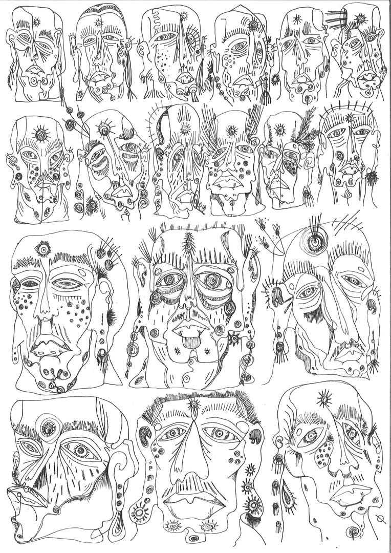 Anti Violence Drawing 2