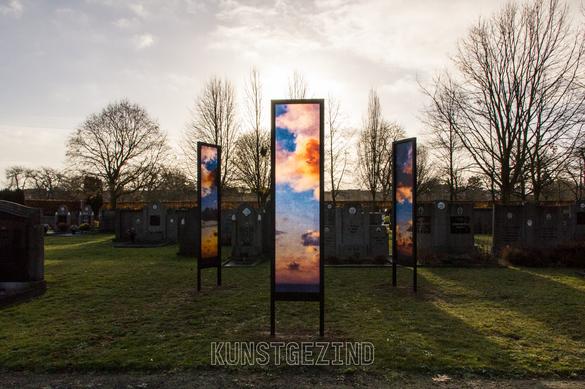 Cloudscapes, triptych