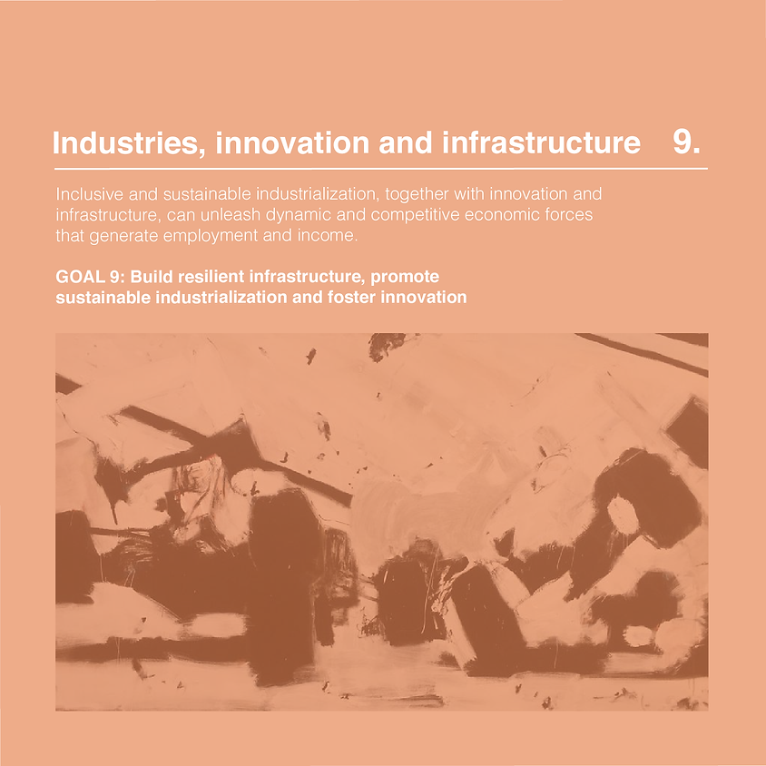 Vernissage: Industry, innovation and infrastructure - JW art