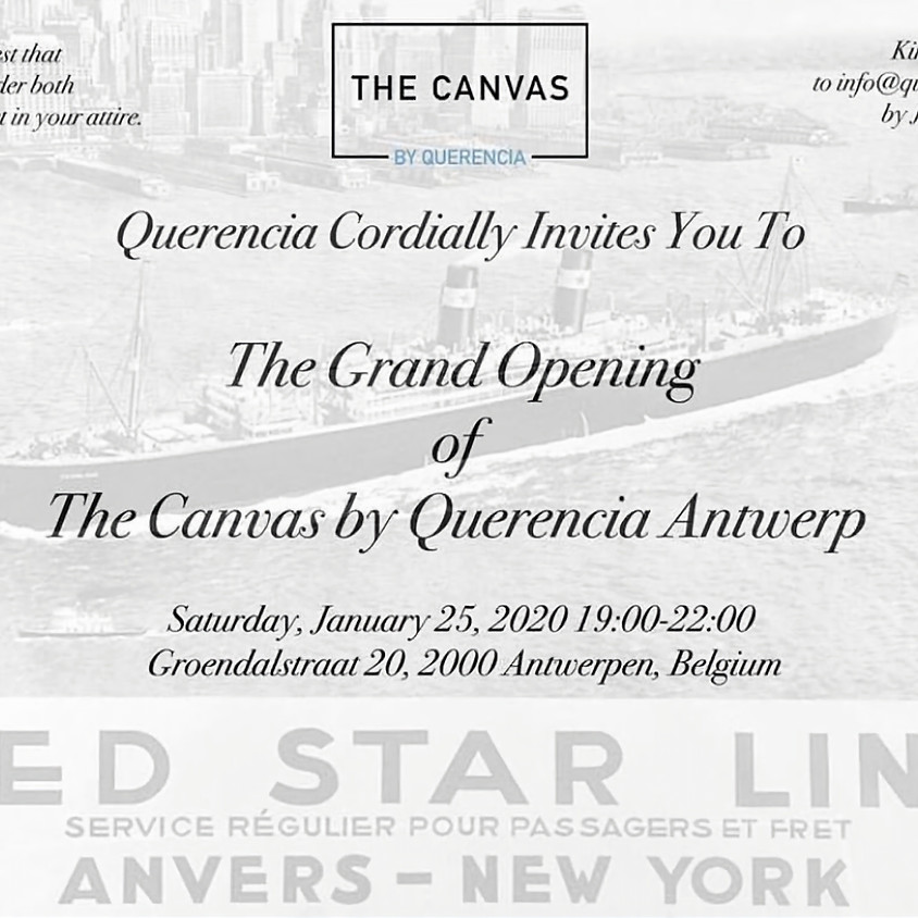 The grand opening of The Canvas by Querencia Antwerp