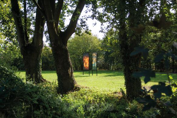 Variations on a treescape - landscape frame