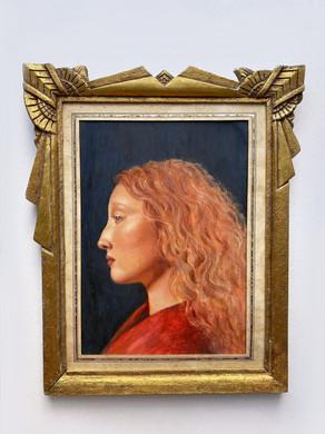 Portret Lorna - antieke portretten op maat