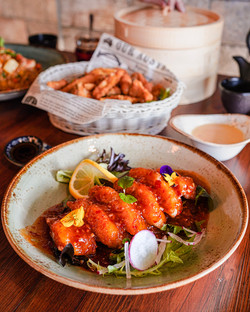 Sweet Chilli Crunchy Fish Fillet