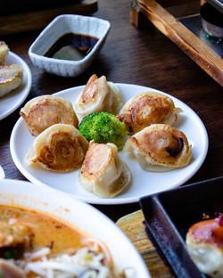Chicken & Corn dumplings