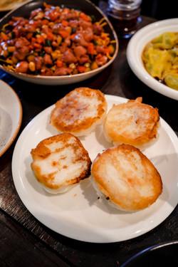 Fried bbq pork buns