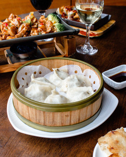 Gluten-free vegetarian dumplings