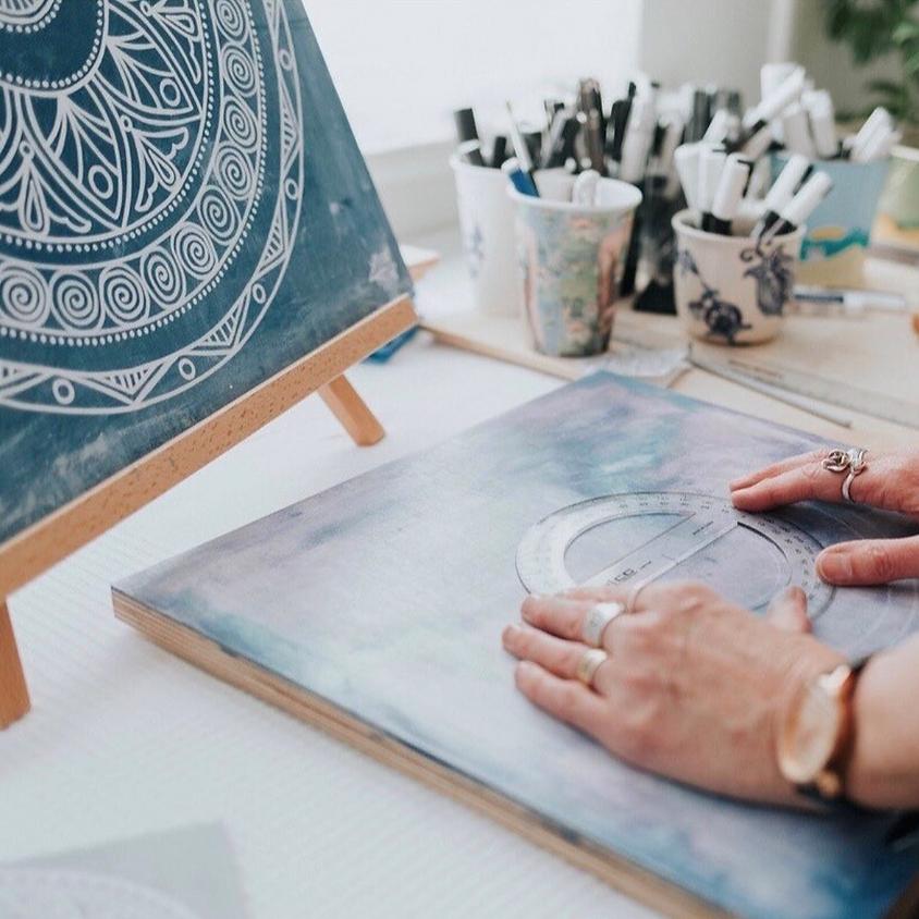 Mandalas & Mimosas Art Workshop