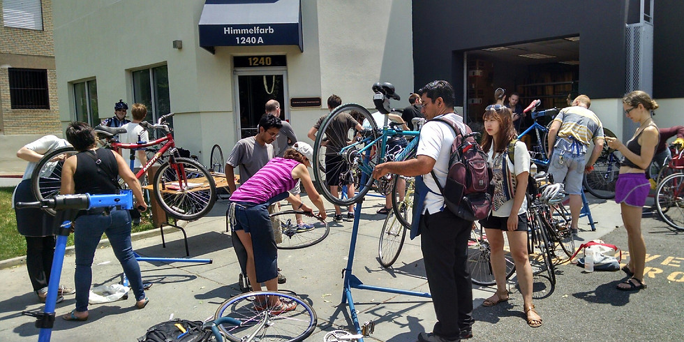 Wednesdays in September - Intro to Bike Mechanics Course for Women and Non-Binary Folks