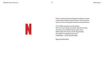Netflix Process