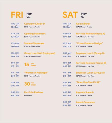Web Schedule