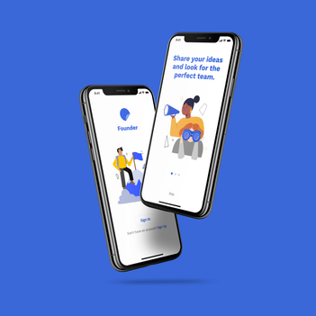 Founder Landing Page