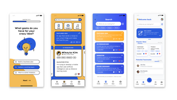 Founder App Early Exploration