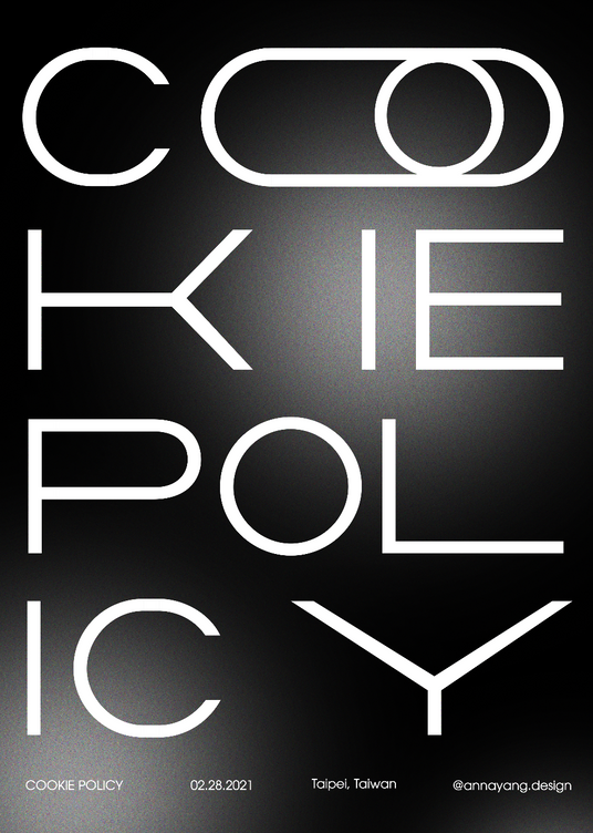 Cookie Policy Poster 002