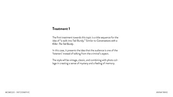 Ted Bundy Treatment 1