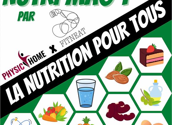 E-book : La nutrition pour tous