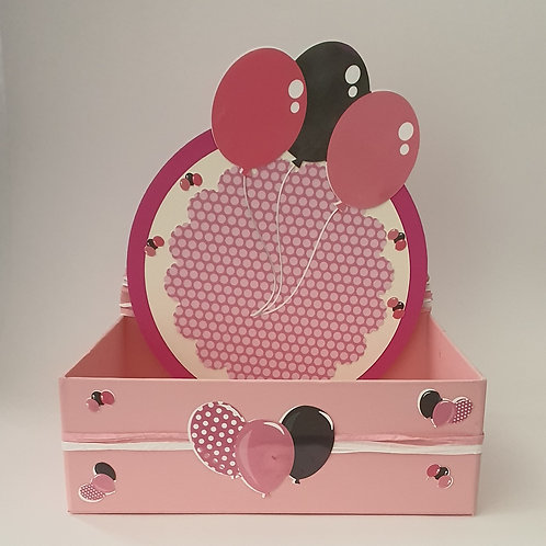Æ Super Konfetti Box, Medium, Mod. Luftballons