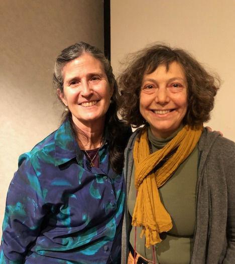 Roxanna Erickson-Klein et moi