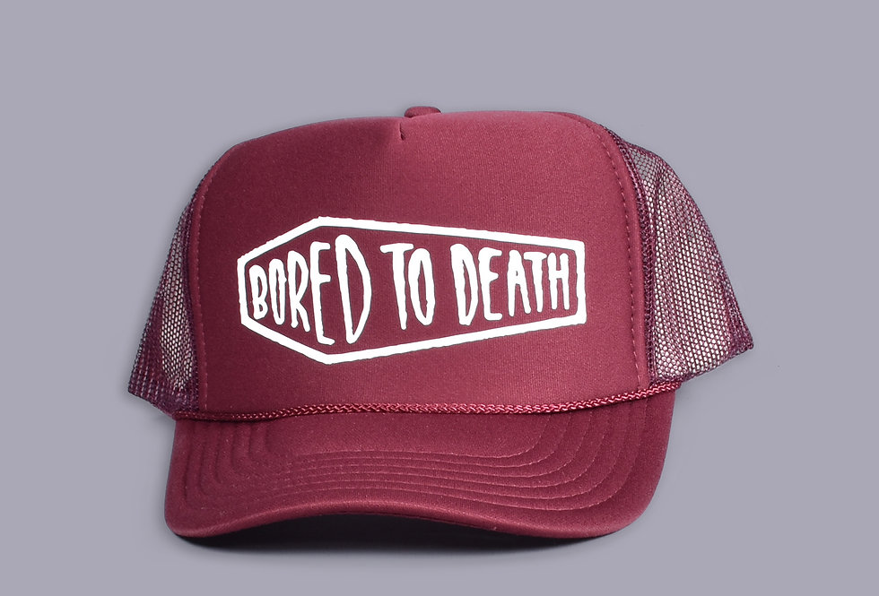 Trucker Hat Bored to Death