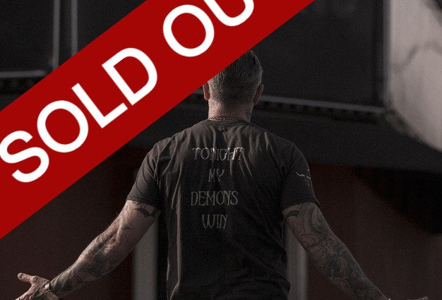 Tonight My Demons Win Statement Tee by Sheehan