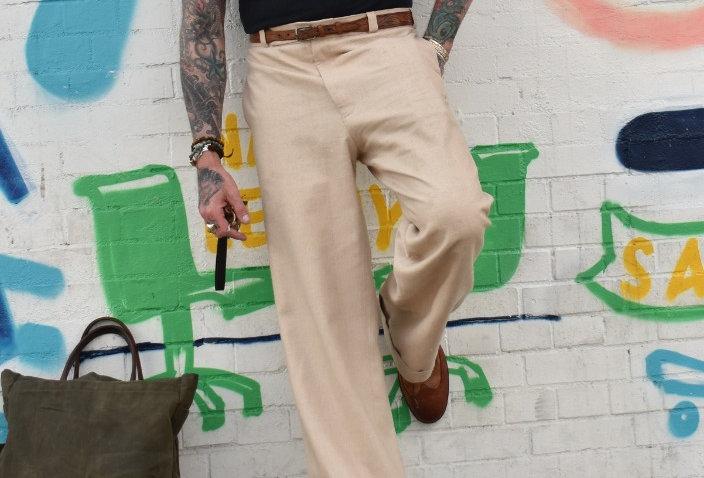 Havana High Waisted Trouser