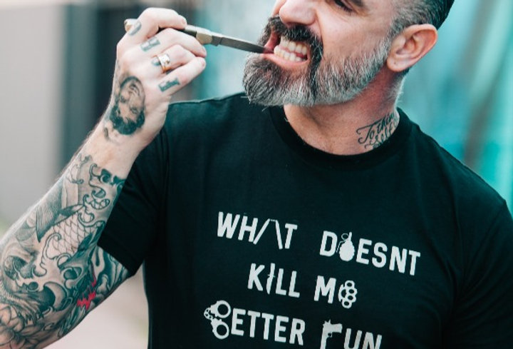 What Doesn't Kill Me Better Run Statement Tee by Sheehan