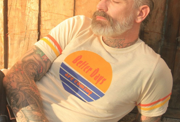 Better Days Are.Coming on Strap Tee by Sheehan