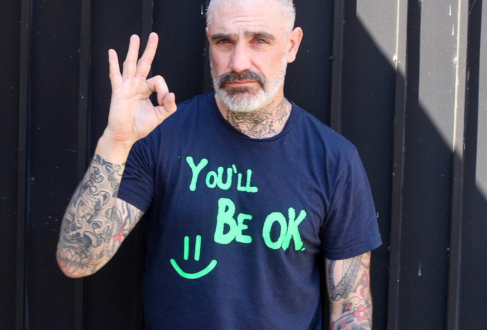 You'll Be Ok Statement Tee by Sheehan